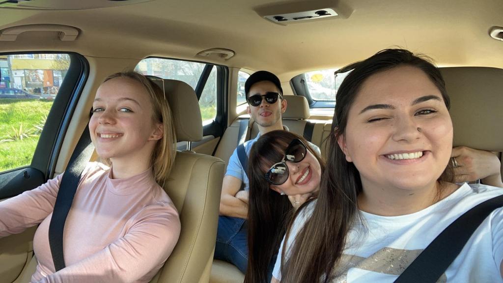 Organising Team on a Road Trip